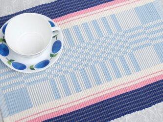 手織りマット【M−Rep*03】の画像