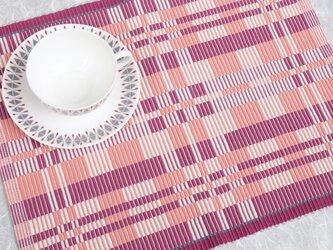 手織りマット【M−Rep*05】の画像