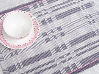 手織りマット【M−Rep*06】の画像