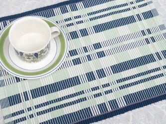 手織りマット【M−Rep*07】の画像