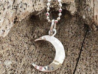 Silver Moon Crescent ◇銀の三日月ネックレスの画像