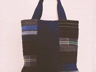 №156 古布で作ったバッグの画像