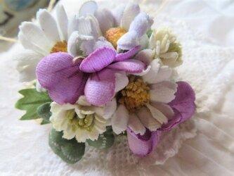 春の野の花コサージュ・bの画像