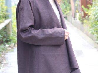 綿麻・羽織りジャケットの画像