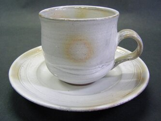粉引唐津コーヒーカップの画像