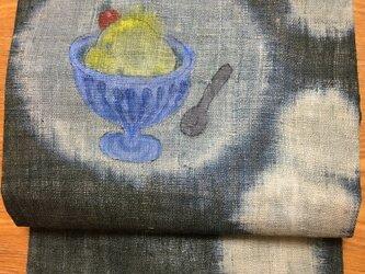 バニラアイスの名古屋帯の画像