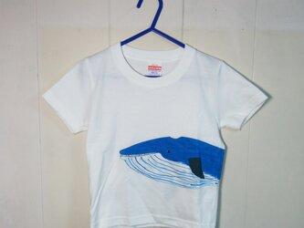 キッズTシャツ(クジラ) 100㎝の画像