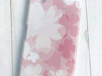 Xperia AQUOS Galaxy iPhone 全機種対応 スマホケース 花と蝶の画像