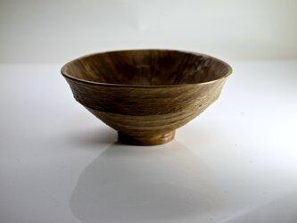 柿の蔕形茶椀「なぎの海」の画像