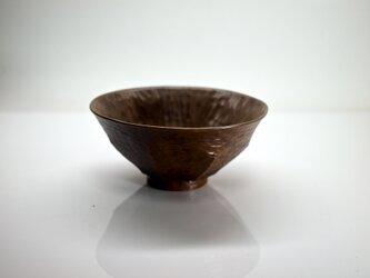 柿の蔕形茶椀「八角」の画像