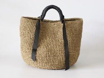 裂き編みバッグ  マルシェバッグ 3Lサイズの画像