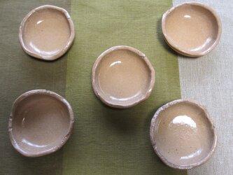 [送料無料] 陶器 豆皿・小皿 5点セットの画像