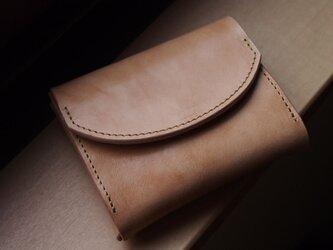 palm(nero) - コンパクトウォレット(ミツロウ)     ミニ財布 コンパクト財布の画像