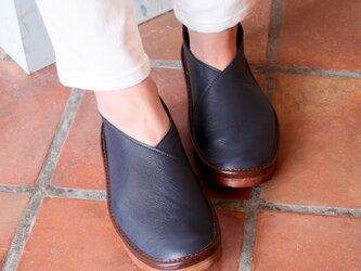 足をふんわり包み込む♪Vカットスリッポン (HAORI) 日本製 国産素材 特許取得【納期5~11日】の画像
