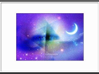 「蒼のラプソディ」 ほっこり癒しのイラストA4サイズポスターNo.640の画像