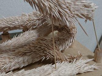 爪楊枝細工 龍の画像