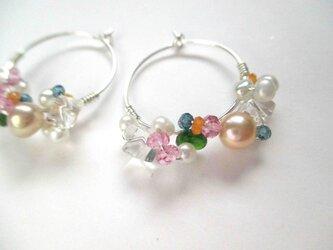 【romantic pierced earrings5 】の画像