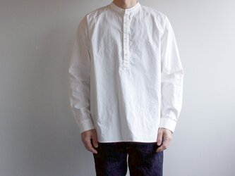 weather cloth shirt/white/size2(MAN)の画像