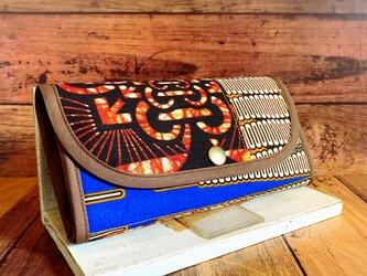803アフリカパーニュ長財布の画像