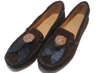 [SALE]Fita Moccasin shoes フィタ レザーモカシン B.brownの画像