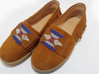 [SALE]Shuta Moccasin shoes シュタ レザーモカシン C.mustardの画像