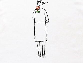 パックジュース・少女の画像