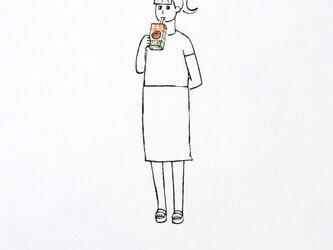 パックジュース・少女【Tシャツ】の画像