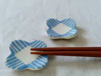 青い花のはしおき(2個組)の画像
