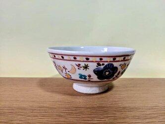 ざおうの森シリーズ ごはん茶碗  青花の画像