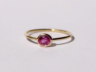 Rubellite Ring / K18YGの画像