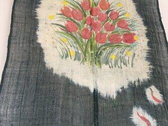 チューリップのタペストリーの画像