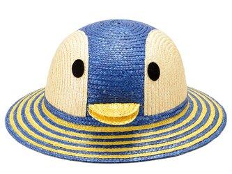 動物帽子 ペンギン ブルー 52cm [UK-H010-PB52]の画像