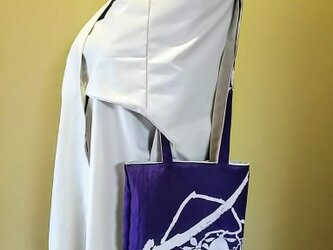 昭和レトロ 風呂敷 リメイク 和風柄 リバーシブル トートバッグの画像