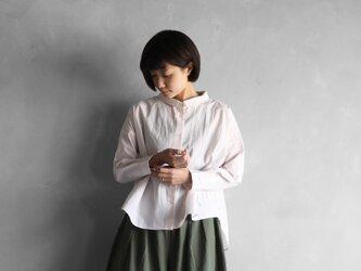 コードレーンワイドブラウス(ベージュ)【レディス】U102の画像