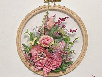 フレームリース/花の表情の画像