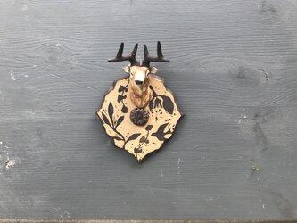 鹿のキーフック (縦長)の画像