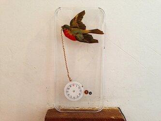 iPhone5ケース 時をかける鳥の画像