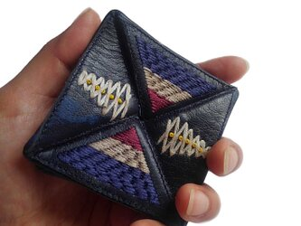 [SALE]Shuta Coin purse シュタ レザー小銭入れ D.navyの画像