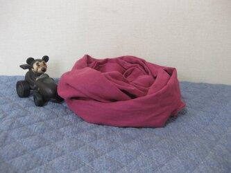 ダブルガーゼスヌード《ローズピンク・一重》の画像