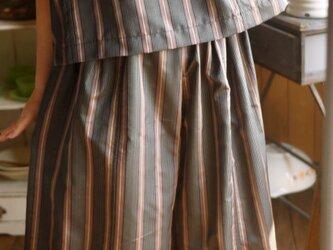 着物リメイクセットアップの画像