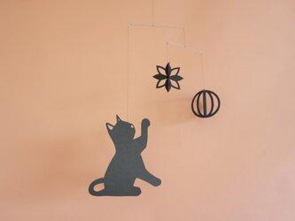 モビール「ネコ」その1の画像