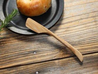 ケヤキのバターナイフの画像