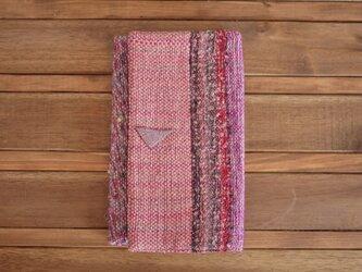 手織り 袱紗にもなるフラットポーチの画像