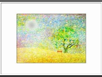 「お出かけ日和」 ほっこり癒しのイラストA4サイズポスターNo.643 半光沢紙の画像