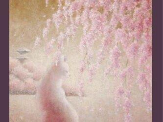 送料無料☆複製画 古都の春(光沢)の画像