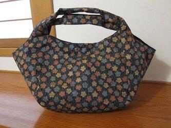 布バッグ「小花ちらし」バッグインバッグ付きの画像