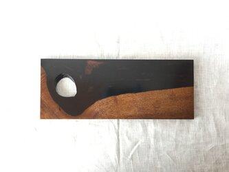 黒柿のカッティングボードの画像