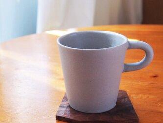 磁器マグカップ マットグレーの画像
