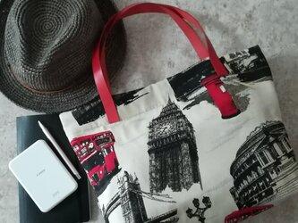 Spain jacquard bag /ロンドンの画像