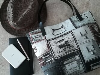 Spain jacquard bag / 引き出しの画像